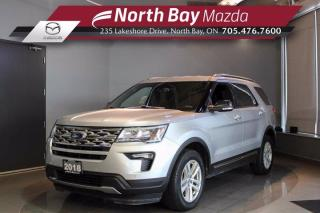 Used 2018 Ford Explorer XLT 4WD - Parking Sensors - Heated Seats - 3rd Row Seating for sale in North Bay, ON