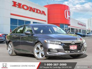 Used 2019 Honda Accord Touring 1.5T GPS NAVIGATION | APPLE CARPLAY™ & ANDROID AUTO™ | POWER SUNROOF for sale in Cambridge, ON