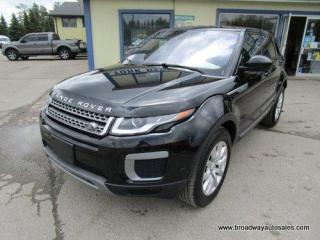 Used 2017 Land Rover Evoque FOUR-WHEEL DRIVE SE EDITION 5 PASSENGER 2.0L - TURBO.. SELEC-TERRAIN-SHIFTING.. NAVIGATION.. LEATHER.. HEATED SEATS.. BACK-UP CAMERA.. for sale in Bradford, ON