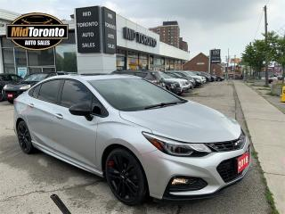Used 2018 Chevrolet Cruze LT TURBO RS - ONSTAR NAVI - POWER SUN ROOF - BOSE - NO ACCIDENTS - ONE OWNER for sale in North York, ON