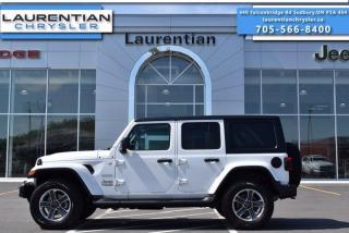Used 2019 Jeep Wrangler Unlimited Sahara - 4WD !! HEATED SEATS !! REMOTE START !! for sale in Sudbury, ON