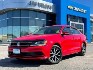 Used 2016 Volkswagen Jetta SEDAN AUTO HEATED SEATS ROOF REAR CAM ALLOYS for sale in Orillia, ON
