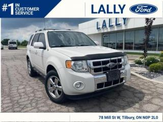 Used 2012 Ford Escape Limited, Navigation, AWD, Must See!! for sale in Tilbury, ON