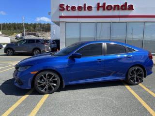 New 2020 Honda Civic Sedan Sport for sale in St. John's, NL