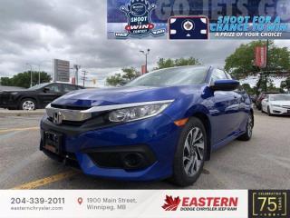 Used 2018 Honda Civic Sedan SE | No Accidents | Backup Camera | for sale in Winnipeg, MB