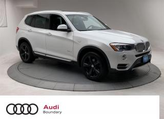Used 2017 BMW X3 xDrive35i for sale in Burnaby, BC