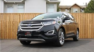 Used 2016 Ford Edge TITANIUM - SUNROOF - COOLED SEATS - NAVIGATION! for sale in Langford, BC
