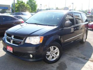 Used 2013 Dodge Grand Caravan Crew,Certified,New Tires,DVD,Bluetooth,Tinted,Fogs for sale in Kitchener, ON
