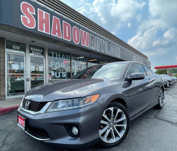 2015 Honda Accord V6 EX-L - NAV/HEAT LEATHER SEATS/SUNROOF/BACKUPCAM