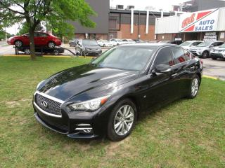 Used 2014 Infiniti Q50 Premium ~ AWD ~ NAVIGATION ~ REAR CAM. ~ SUNROOF for sale in Toronto, ON