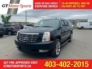 Used 2007 Cadillac Escalade ESV ESV    $0 DOWN - EVERYONE APPROVED! for sale in Calgary, AB