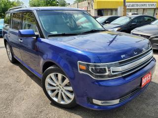Used 2013 Ford Flex limited/NAVI/CAMERA/7PASS/LEATHER/ROOF/LOADED/ALLO for sale in Scarborough, ON