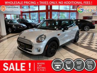 Used 2015 MINI Cooper Hardtop Cooper Hardtop - Sunroof / Leather / No Dealer Fees / Low Mileage for sale in Richmond, BC