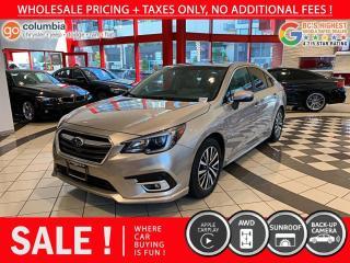 Used 2019 Subaru Legacy 2.5i Touring w/ Eyesight - Sunroof / No Dealer Fees / Heated seats for sale in Richmond, BC