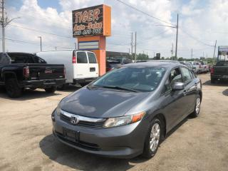 Used 2012 Honda Civic LX*ONLY 117KMS**AUTO*4 CYLINDER*CERTIFIED for sale in London, ON