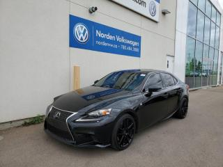 Used 2015 Lexus IS 350 IS 350 | F SPORT | AWD | 2 SETS OF RIMS/TIRES for sale in Edmonton, AB