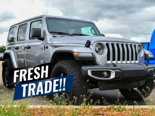 Used 2018 Jeep Wrangler Unlimited Sahara for sale in Red Deer, AB