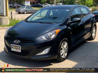 Used 2013 Hyundai Elantra GT GLS|SINGLE OWNER|LOW KM|NO ACCIDENT|CERTIFIED for sale in Oakville, ON
