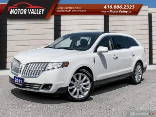 Used 2011 Lincoln MKT 3.7L AWD NAVIGATION / PANO ROOF / CAMERA - MINT! for sale in Scarborough, ON
