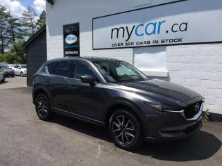 Used 2017 Mazda CX-5 GT LEATHER, SUNROOF, NAV , BOSE SOUND, HEATED SEATS!! for sale in North Bay, ON