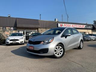 Used 2014 Kia Rio 4dr AUTO REMOTE START  GAS SAVER SAFETY CERTIFIED for sale in Oakville, ON