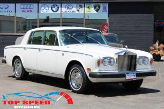 Used 1979 Rolls Royce Silver Shadow SILVER SHADOW 1| SHOWROOM CONDITION | COLLECTOR for sale in Richmond Hill, ON