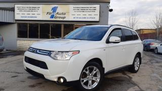 Used 2014 Mitsubishi Outlander SE 3.0L   7 pass. //   P-Moon for sale in Etobicoke, ON