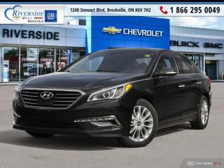 Used 2015 Hyundai Sonata LIMITED for sale in Brockville, ON
