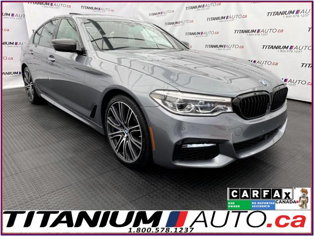 2017 BMW 5 Series 540i+Night Vision Camera+Massage Cooled Seats+Adap