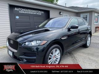 Used 2019 Jaguar F-PACE 20d Prestige 20D Prestige - Diesel - AWD - Nav, Carplay, Android Auto. for sale in Kingston, ON