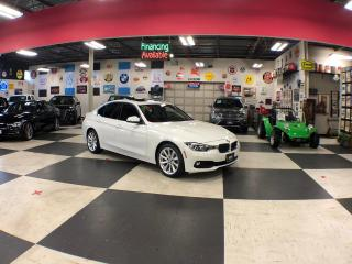 Used 2017 BMW 3 Series 2.0L XDRIVE PREMIUM & NAVI PACKAGE AUTO LEATHER SUNROOF 76K for sale in North York, ON
