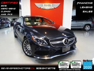 Used 2016 Mercedes-Benz CLS-Class CLS400 AMG | CERTIFIED | FINANCE | 9055478778 for sale in Oakville, ON