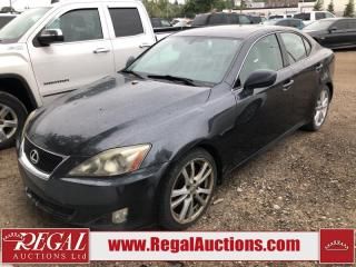 Used 2007 Lexus IS 250 (30-A.SOU) for sale in Calgary, AB
