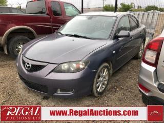 Used 2008 Mazda MAZDA3 (34-A.SOU) for sale in Calgary, AB