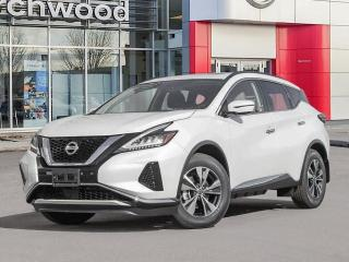 New 2021 Nissan Murano SV for sale in Winnipeg, MB