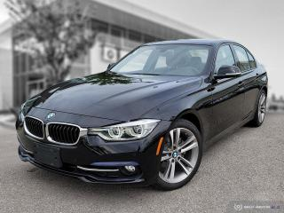 Used 2017 BMW 3 Series 320i xDrive Sport Line + Essentials! 3 New Tires + Rear Brakes! for sale in Winnipeg, MB