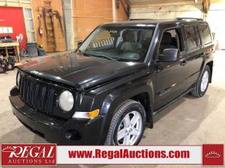 Used 2010 Jeep Patriot 4D Utility 4WD for sale in Calgary, AB