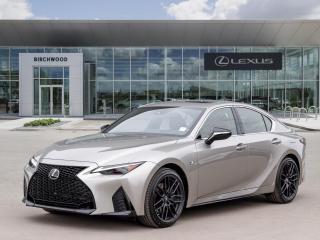 New 2021 Lexus IS 350 F SPORT 3 for sale in Winnipeg, MB