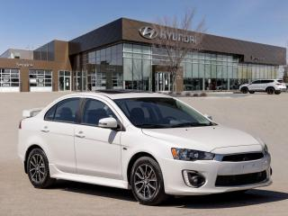 Used 2017 Mitsubishi Lancer SE LTD | No Accidents | Heated Seats | Rear Camera | for sale in Winnipeg, MB