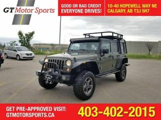 Used 2015 Jeep Wrangler Rubicon | $0 DOWN - EVERYONE APPROVED!! for sale in Calgary, AB