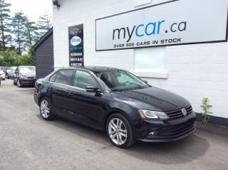 Used 2015 Volkswagen Jetta 1.8 TSI Highline LEATHER, SUNROOF, NAV, HEATED SEATS, LOADED!! for sale in Richmond, ON