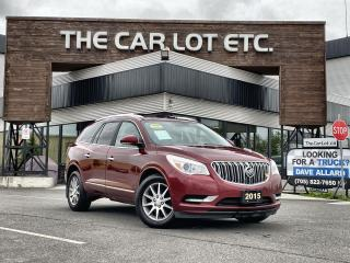 Used 2015 Buick Enclave Leather 7 PASSENGER!! SUNROOF!! LEATHER!! BACK-UP CAM!! HEATED SEATS!! for sale in Sudbury, ON