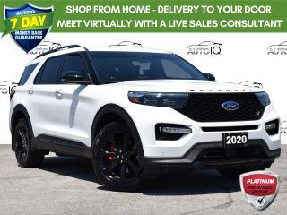 Used 2020 Ford Explorer ST Like New for sale in Tillsonburg, ON