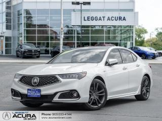 Used 2020 Acura TLX Tech A-Spec w/Red Leather A-SPEC | ACURA CERTIFIED | NAVI | RED LEATHER for sale in Burlington, ON