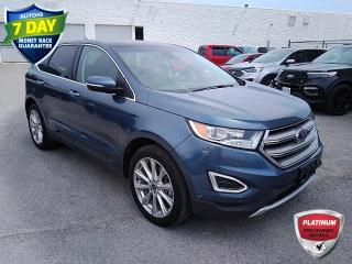 Used 2018 Ford Edge Titanium | CLEAN CARFAX | LEATHER | HTD & COOLED SEATS | MOONROOF | 20