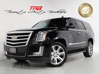 Used 2016 Cadillac Escalade LUXURY I 7-PASS I REAR DVD I NAV I 22 IN WHEELS for sale in Vaughan, ON