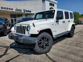 Used 2018 Jeep Wrangler JK Unlimited Sahara for sale in Sarnia, ON
