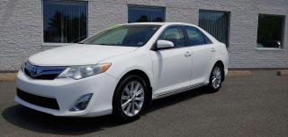 Used 2012 Toyota Camry Check out this Beautiful White Camry XLE for sale in Kentville, NS