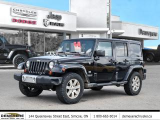 Used 2011 Jeep Wrangler Unlimited WRANGLER UNLIMITED | 70TH ANNIVERSARY | AS-IS for sale in Simcoe, ON