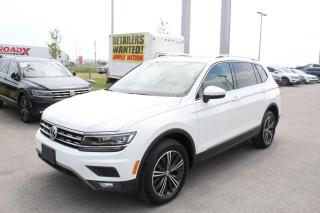 Used 2019 Volkswagen Tiguan 2.0T Highline 4MOTION for sale in Whitby, ON